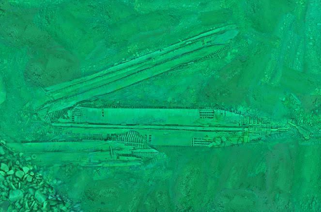 Underwater Photogrammetry Hesper Shipwreck Orthophoto