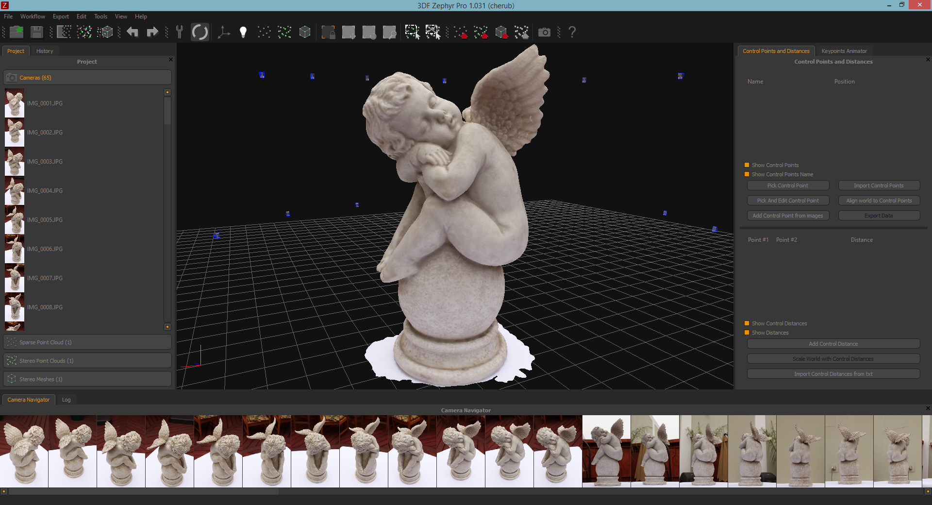 3DF Zephyr Pro - from pictures to 3d models - Ogre Forums