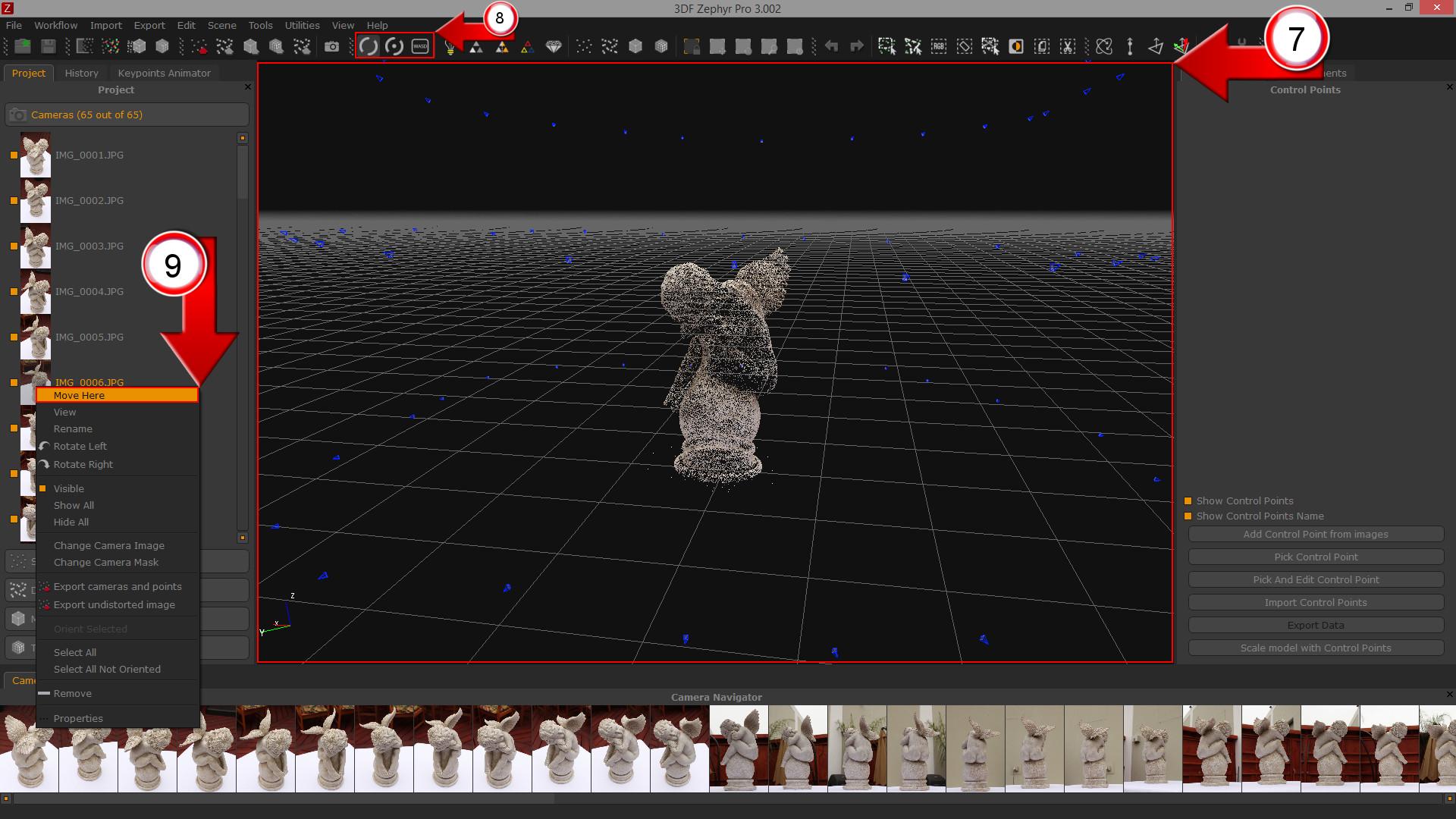 Tutorial: convert photos in 3D models with 3DF Zephyr