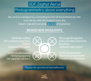 3DF Zephyr Aerial is out now!