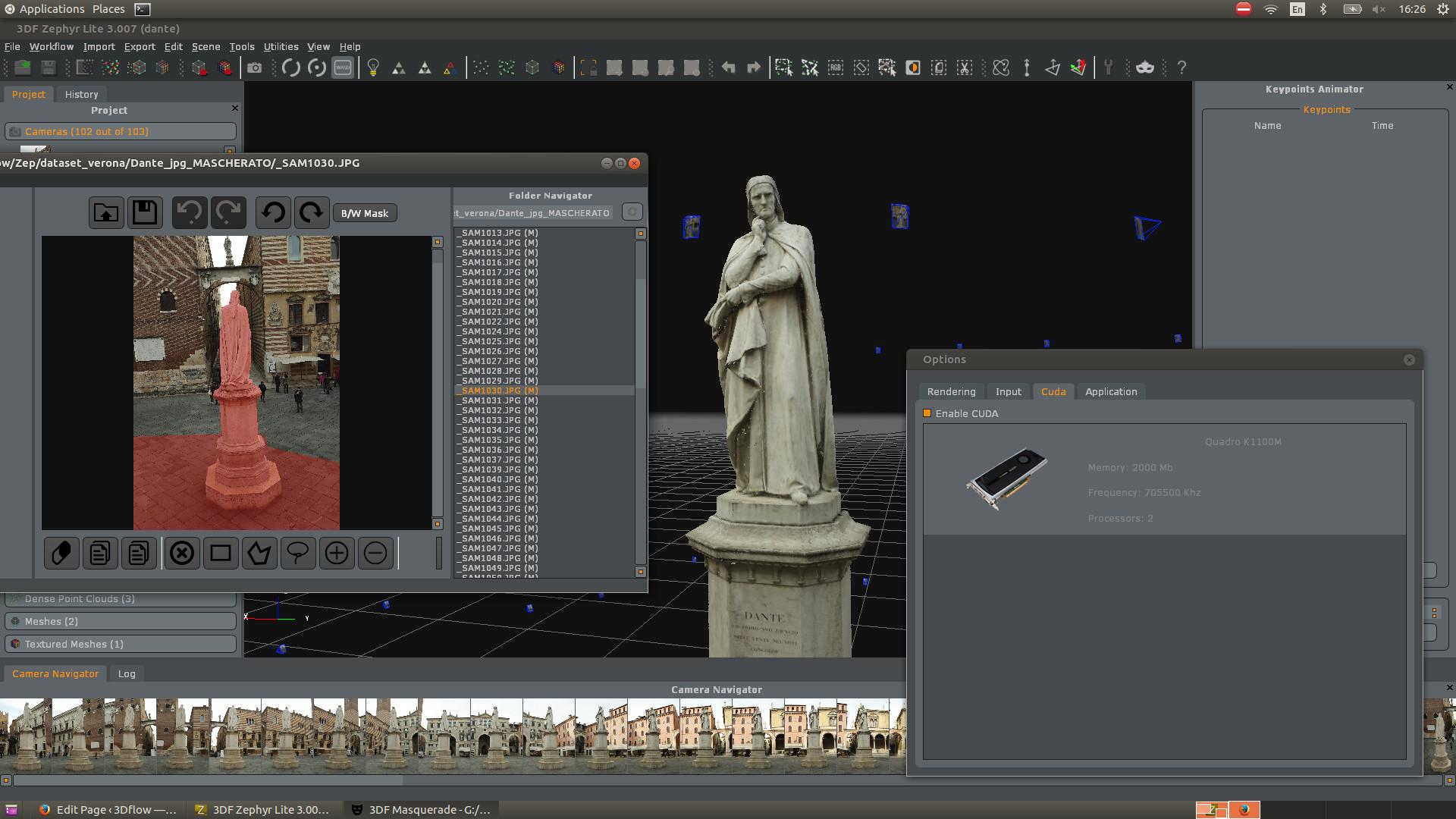 Running 3DF Zephyr on GNU/Linux using Wine - 3Dflow