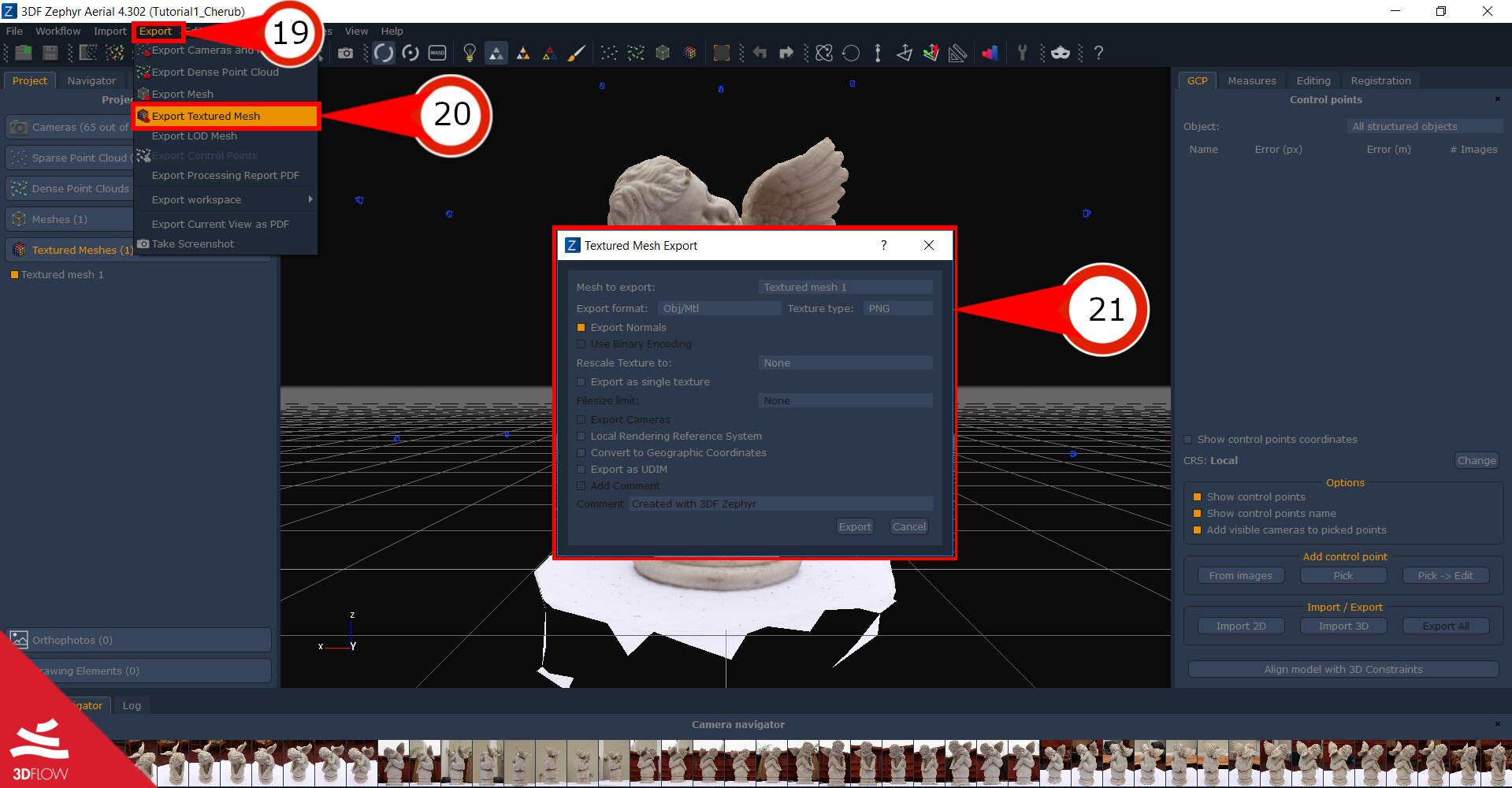 Tutorial: convert photos in 3D models with 3DF Zephyr