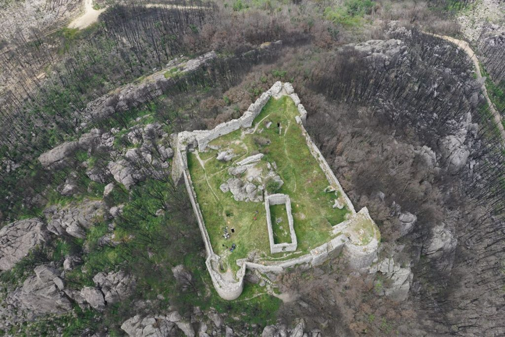 Fig. 1. Verruca fortress, top-view picture. © Giovanni Pancani – DIDA UniFI